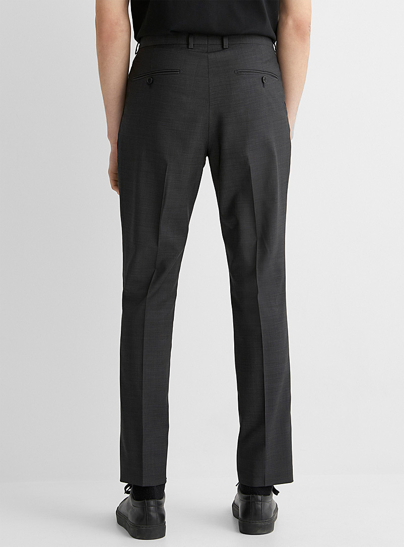 Marzotto end-on-end pant  Stockholm fit-Slim - Suit Separates - Charcoal
