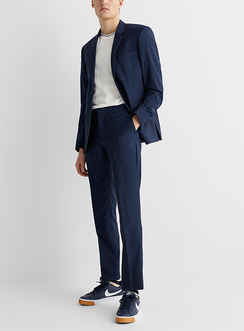 Marzotto end-on-end jacket  Stockholm fit - Slim - Slim Fit - Sapphire Blue
