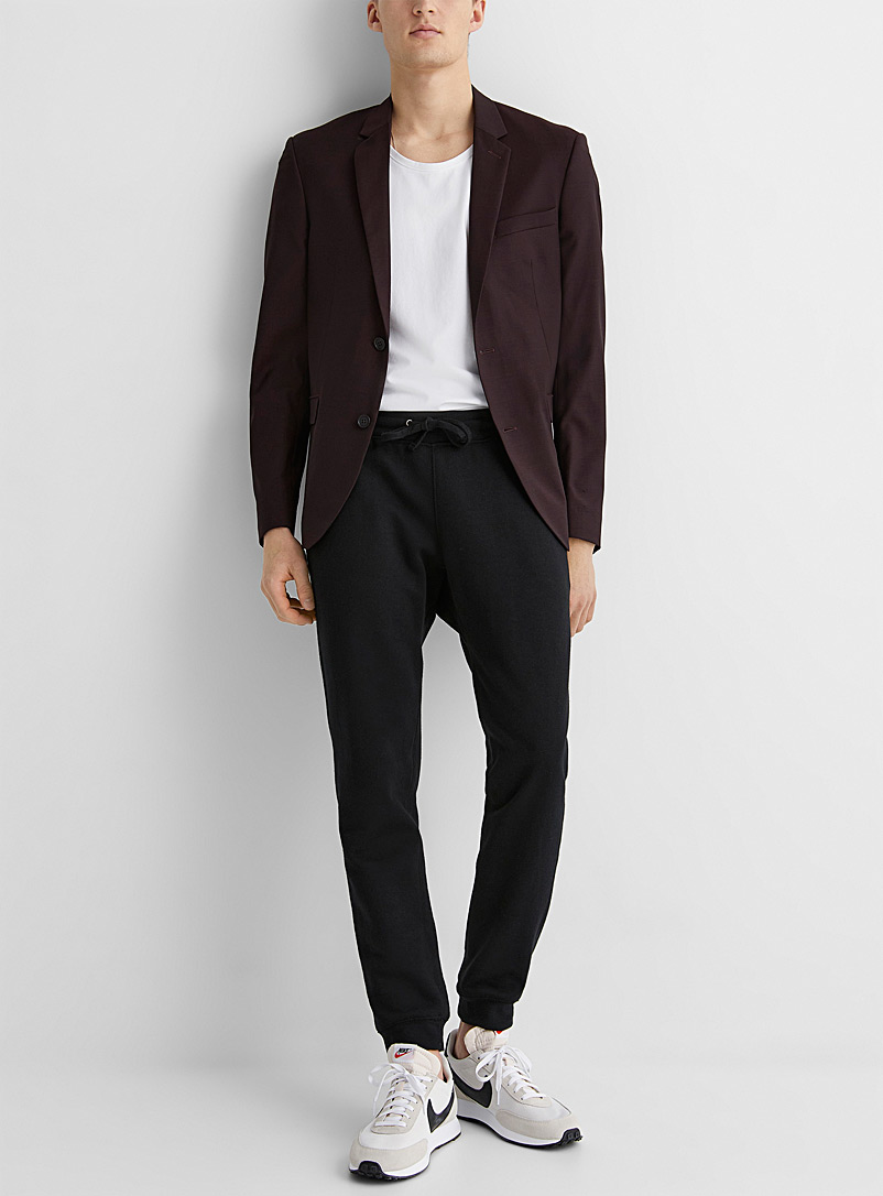 Marzotto end-on-end jacket  Stockholm fit - Slim - Suit Separates - Ruby Red