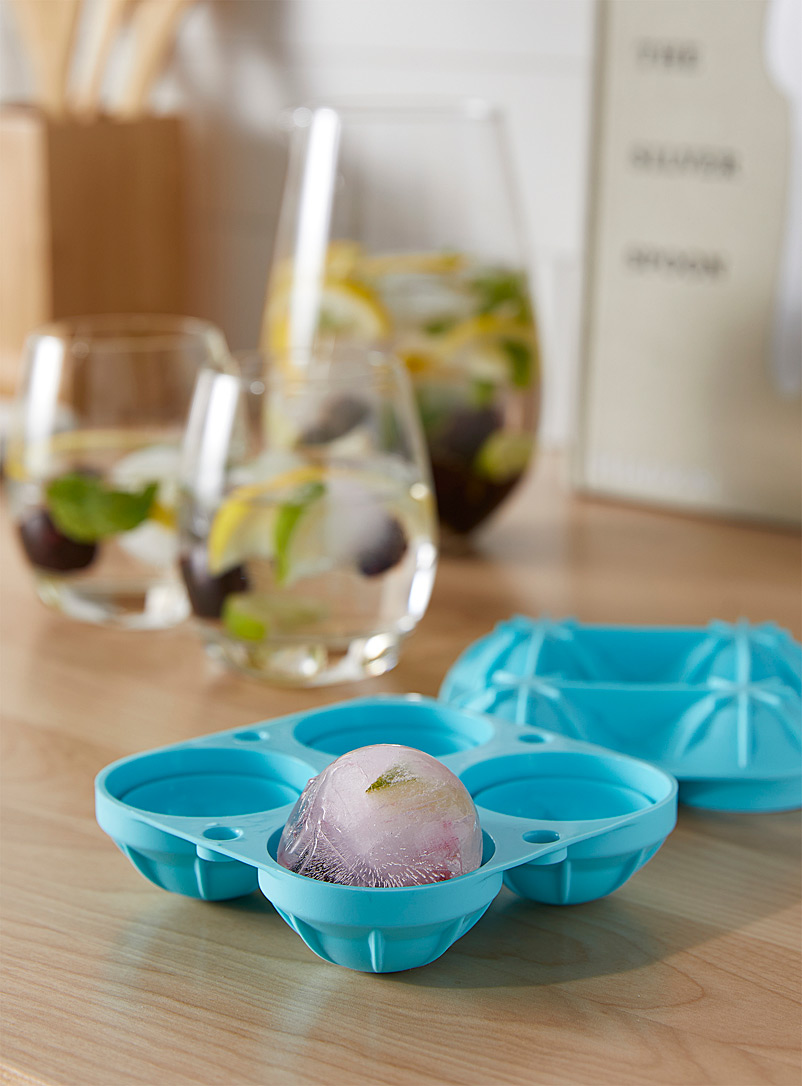 Ricardo Teal Silicone ice sphere mould