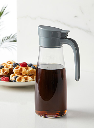 Oil and maple syrup dispenser