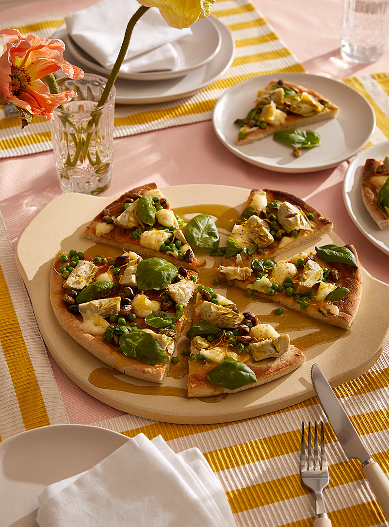 Italian pizza stone - Useful & Chic Extras - Sand