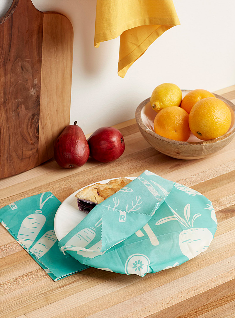 Garden large food wraps  Set of 2