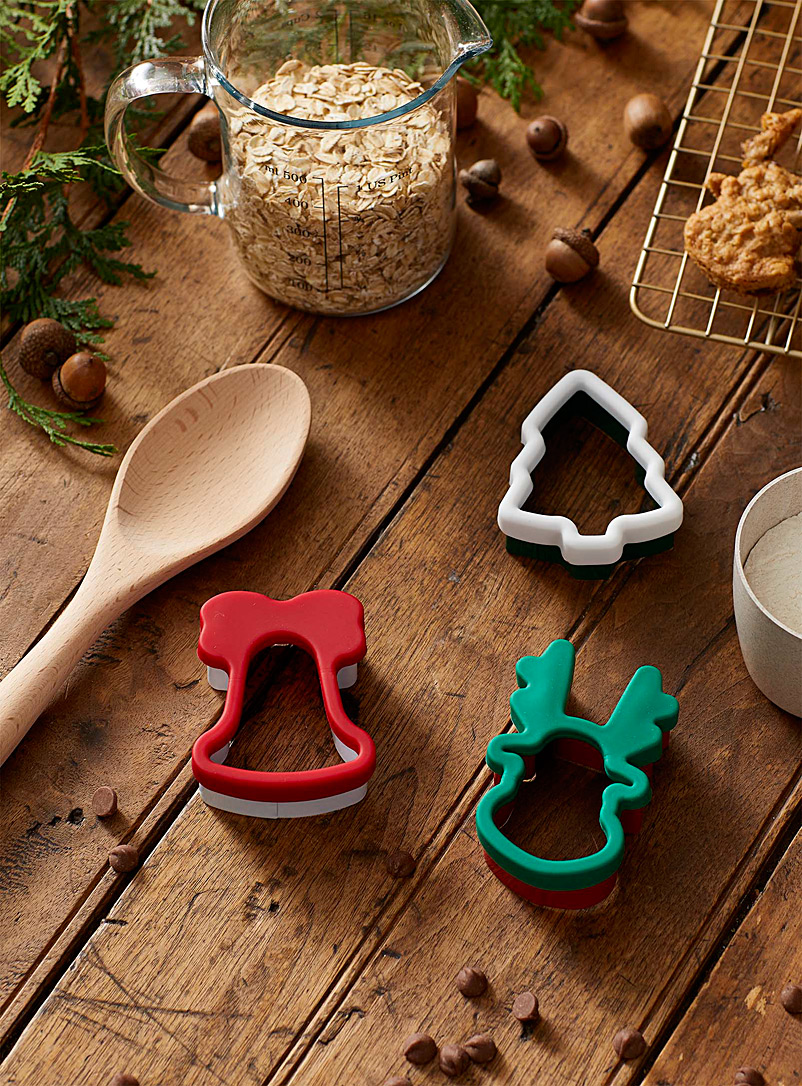 Ricardo Assorted Christmas cookie cutters  Set of 3