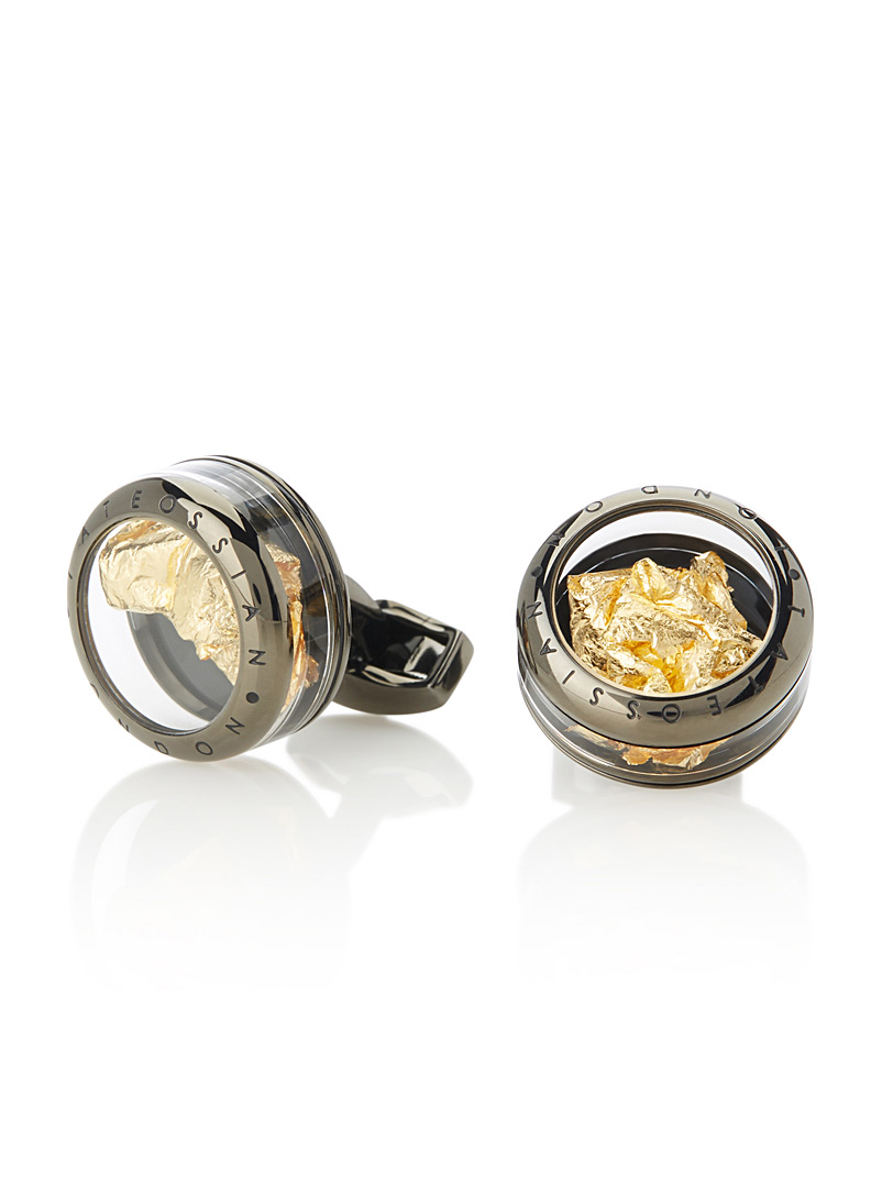 panorama-gold-leaf-cufflinks