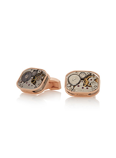 Skeleton Tonneau cufflinks
