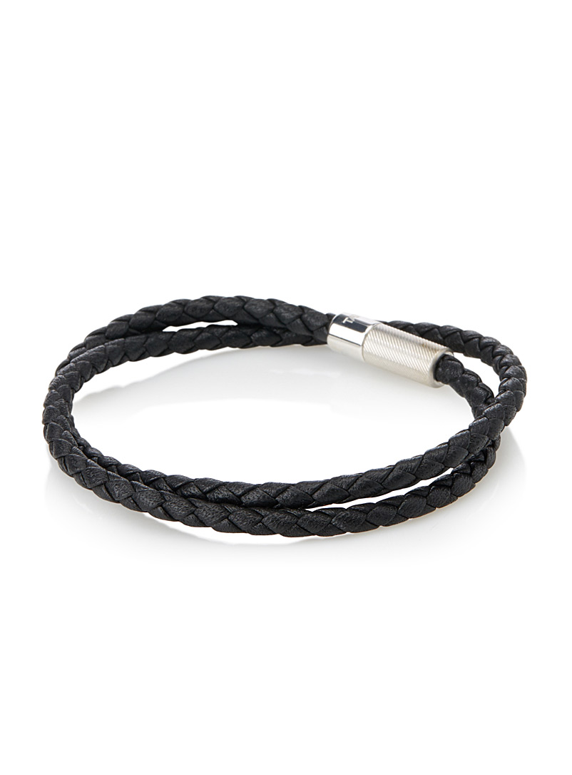 Rigato leather bracelet