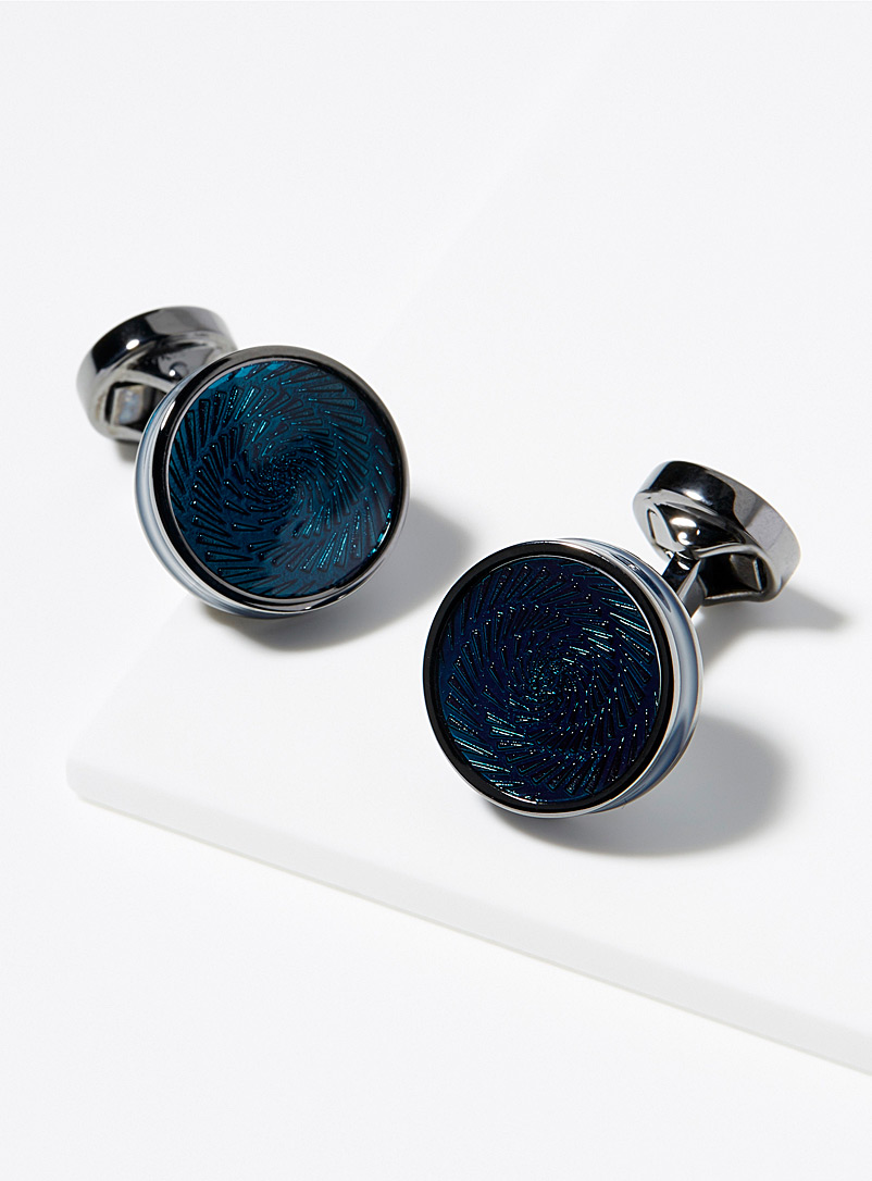 Vertigo Ice cufflinks
