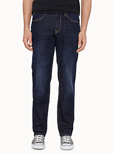 Rock indigo jean  Straight fit