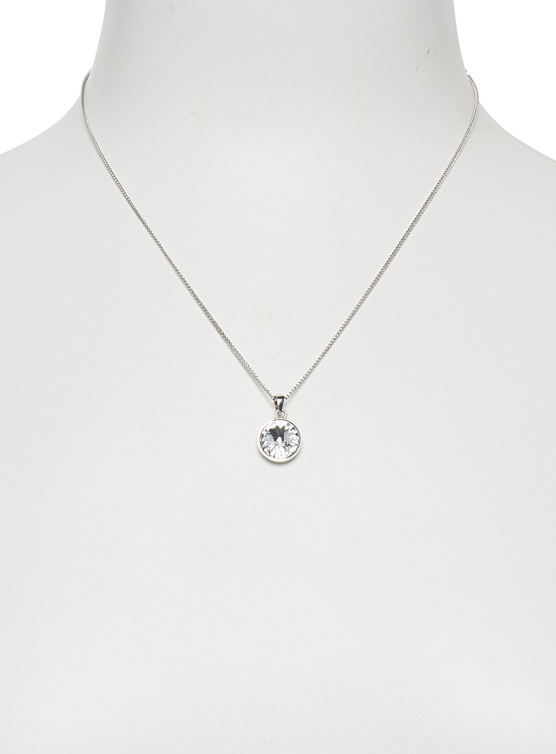 Swarovski crystal necklace - Necklaces - Silver