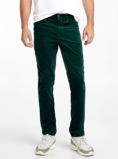 5-pocket organic cotton corduroy pant  Stockholm fit - Slim