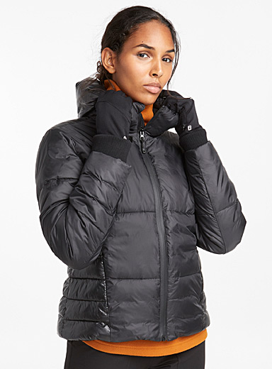 Matte quilted jacket