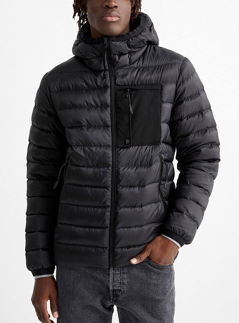Responsible down puffer jacket