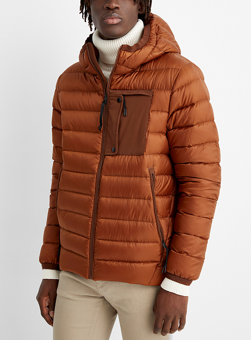 Le 31 Copper Responsible down puffer jacket for men