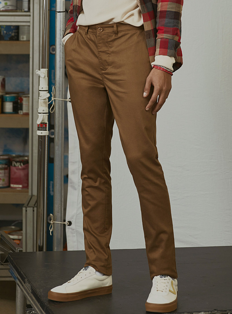 Eco-friendly stretch chinos  Yoyogi fit - Skinny