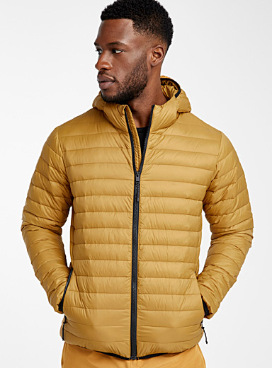 I.FIV5 Fawn Recycled nylon packable puffer jacket for men