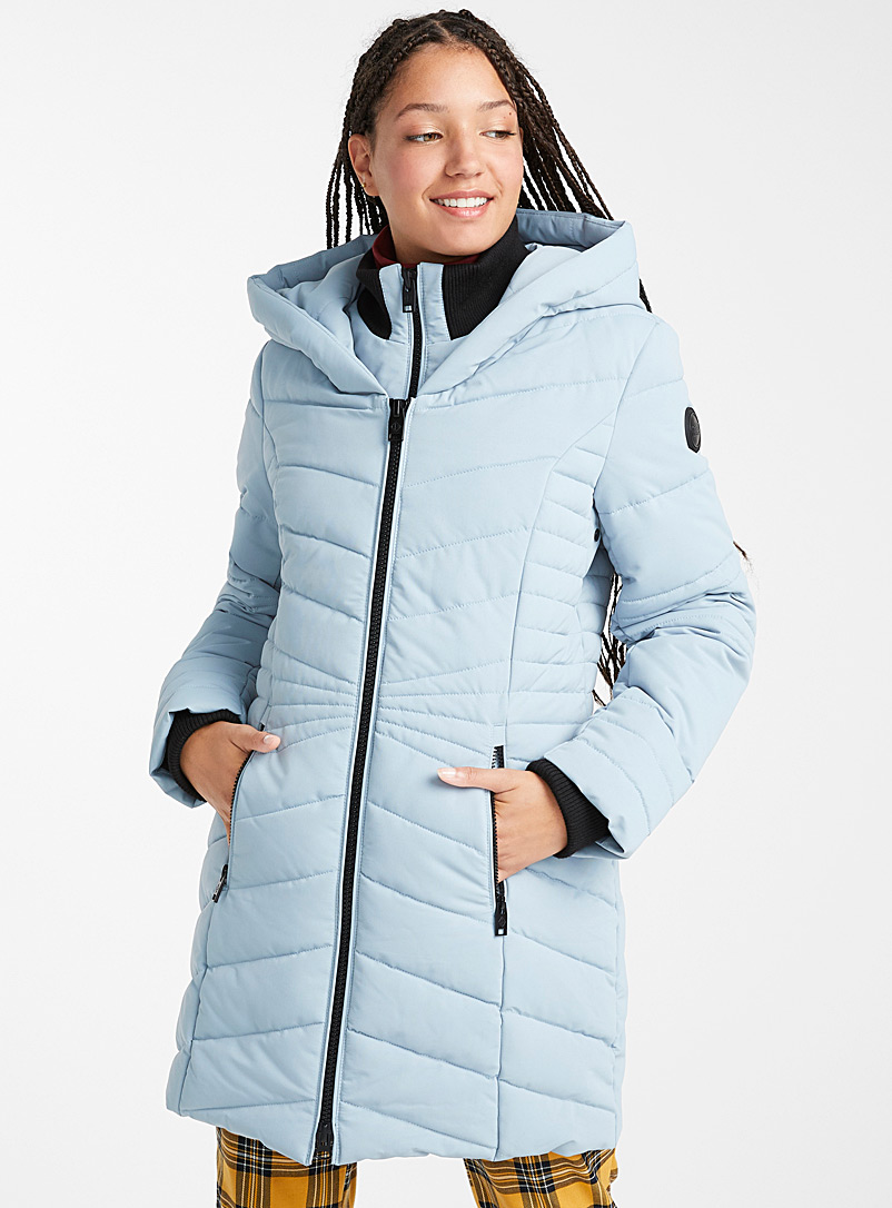 Amelia quilted parka - Anoraks and Parkas - Slate Blue