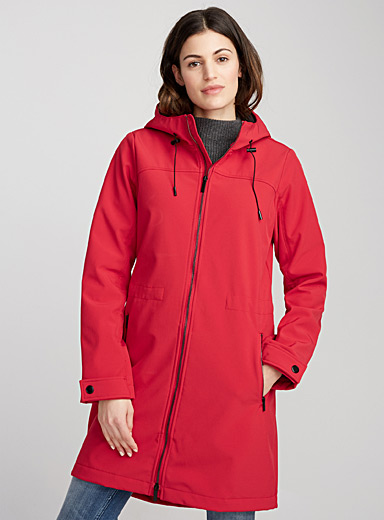 Versatile ¾ softshell jacket