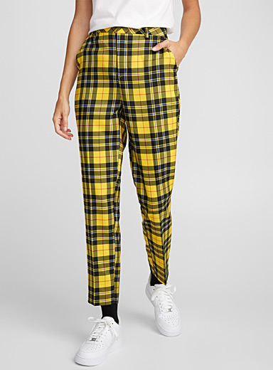 Pop check high-rise pant