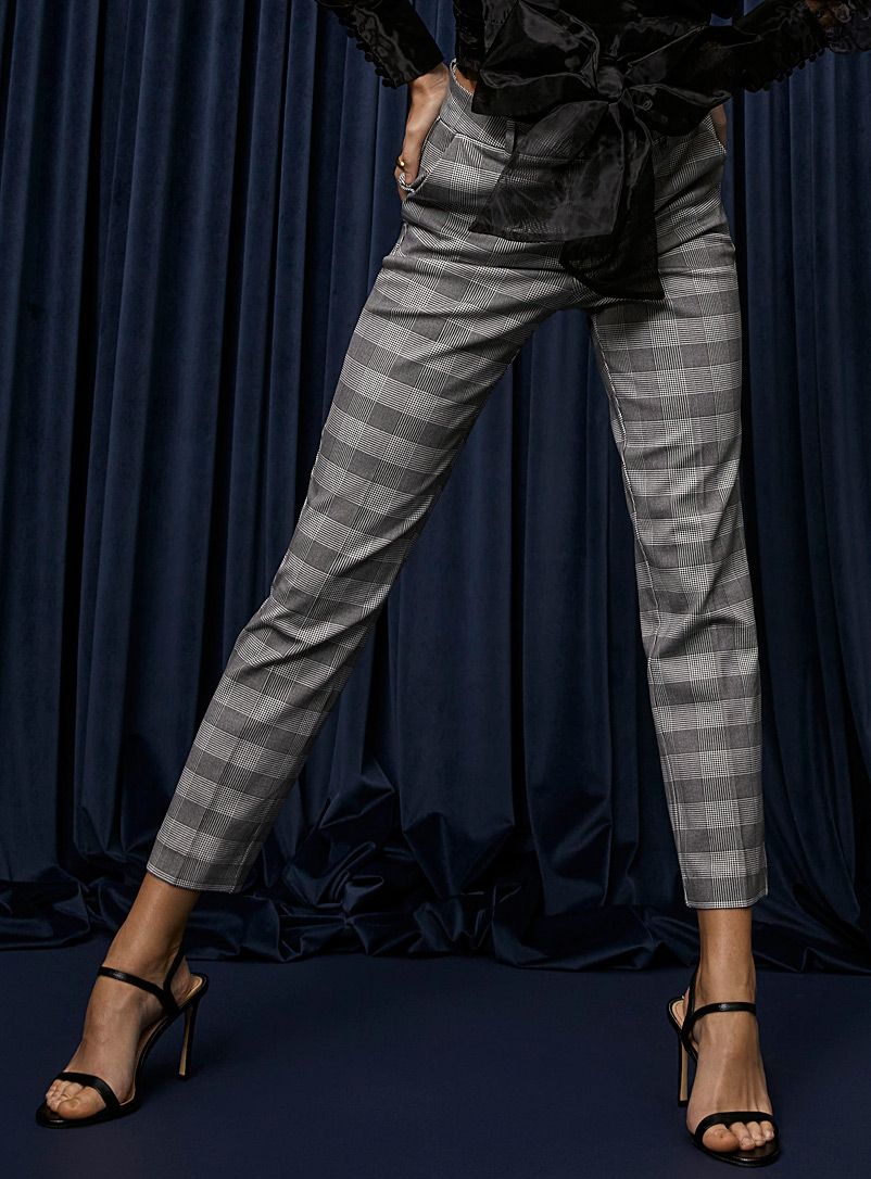 Icône Assorted Micro-print dress pant for women