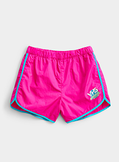Twik Medium Pink VHS trim short for women