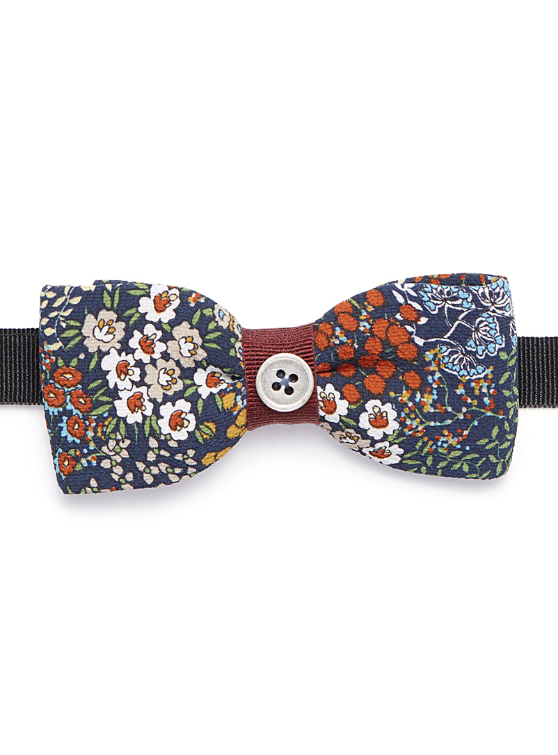 Spring flower bow tie - Bow Ties - Ruby Red