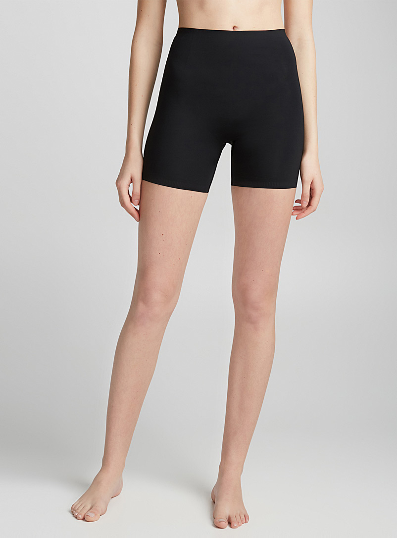 Spanx Black Invisible control short for women