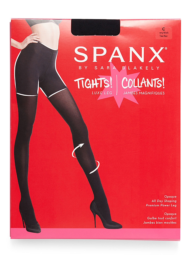 Opaque body-shaping tights - Tights - Black