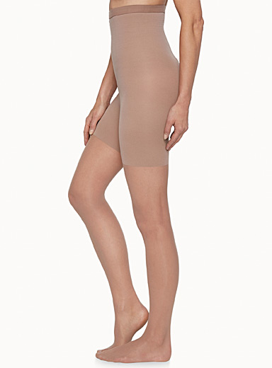 Spanx Nude Extra fine sculpting pantyhose for women