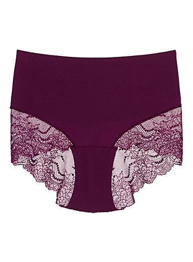 Undie-tectable lace hipster