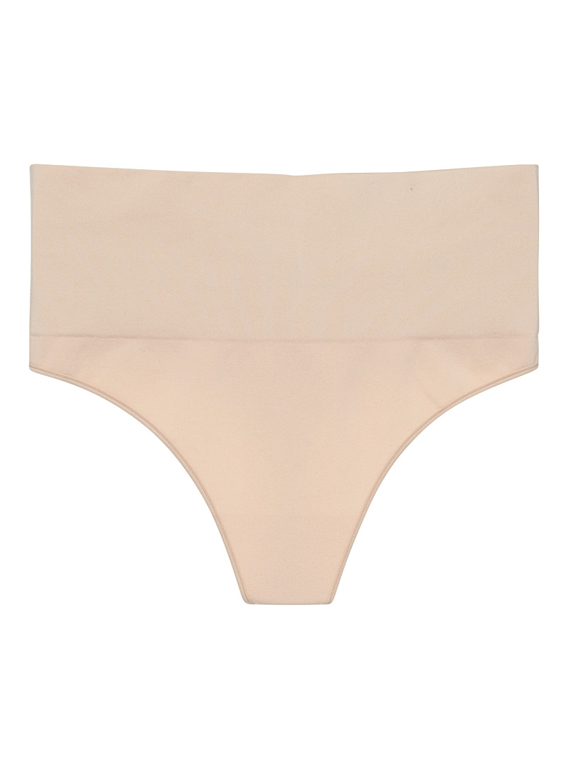 Spanx Tan Essential control thong for women