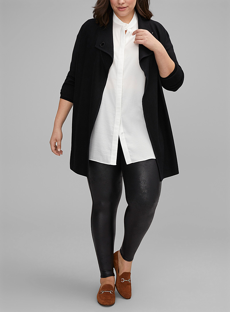 Faux-leather legging Plus size