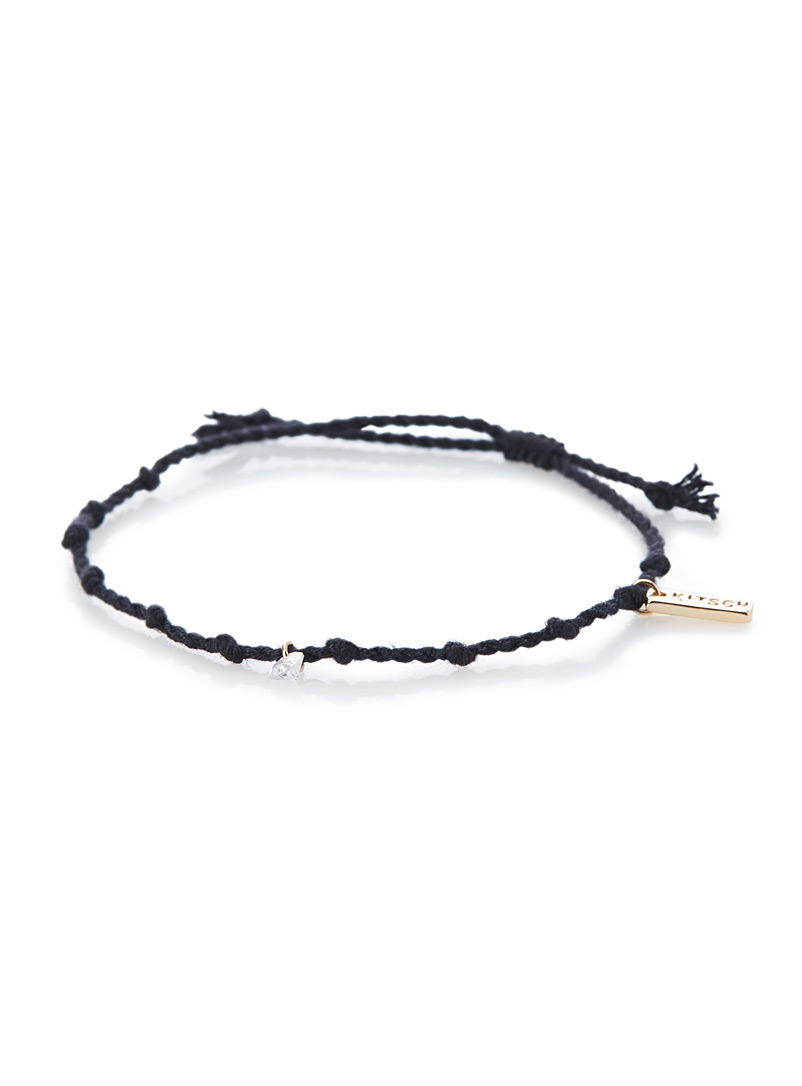 Wishing bracelet - Bracelets - Black