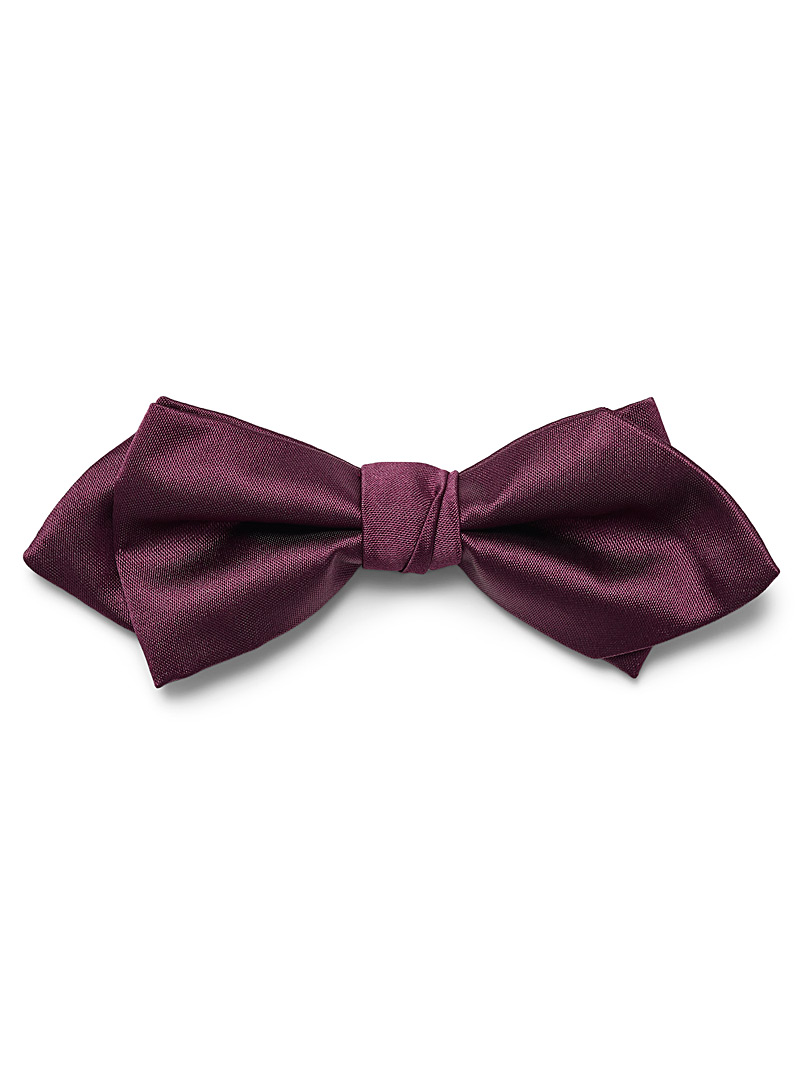satiny-colour-bow-tie