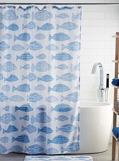 School of fish shower curtain