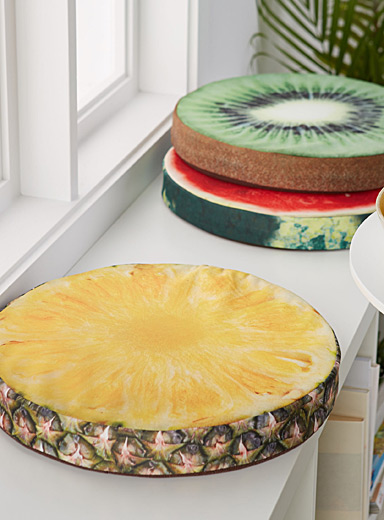 Pineapple chairpad  40 cm round