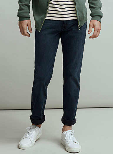 Dark blue stretch jean  Slim fit