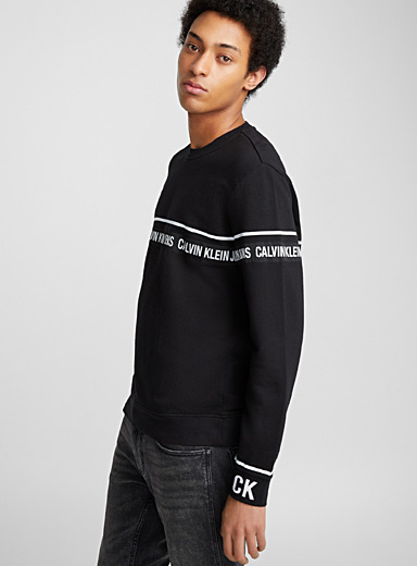 Le sweat galon signature