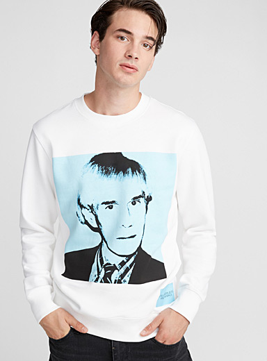 Le sweat portrait Warhol