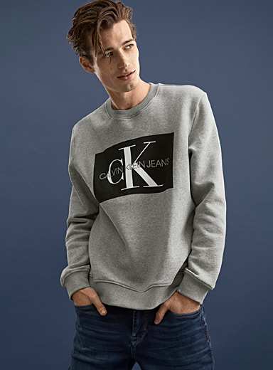Logo block sweatshirt