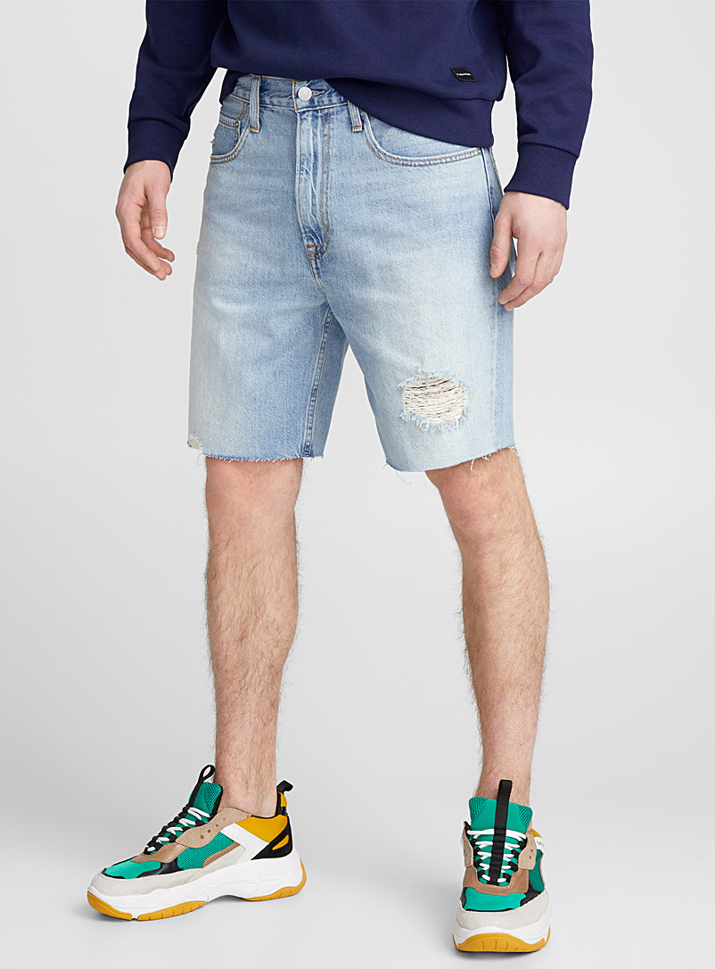 distressed-denim-bermudas