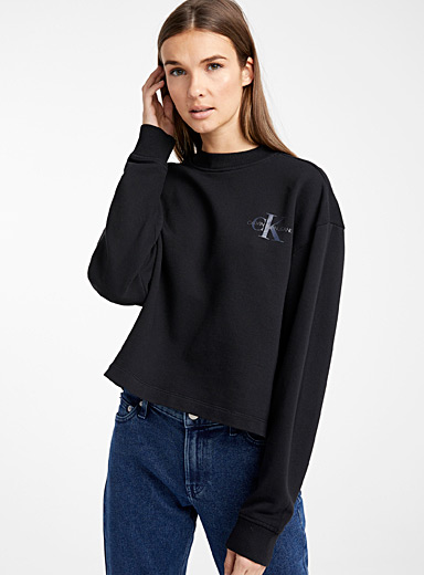 Loose logo sweatshirt