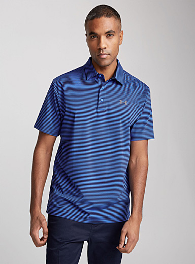Striped Playoff polo