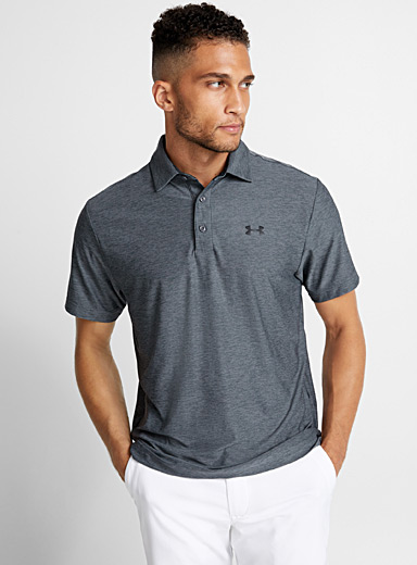 Playoff heathered polo