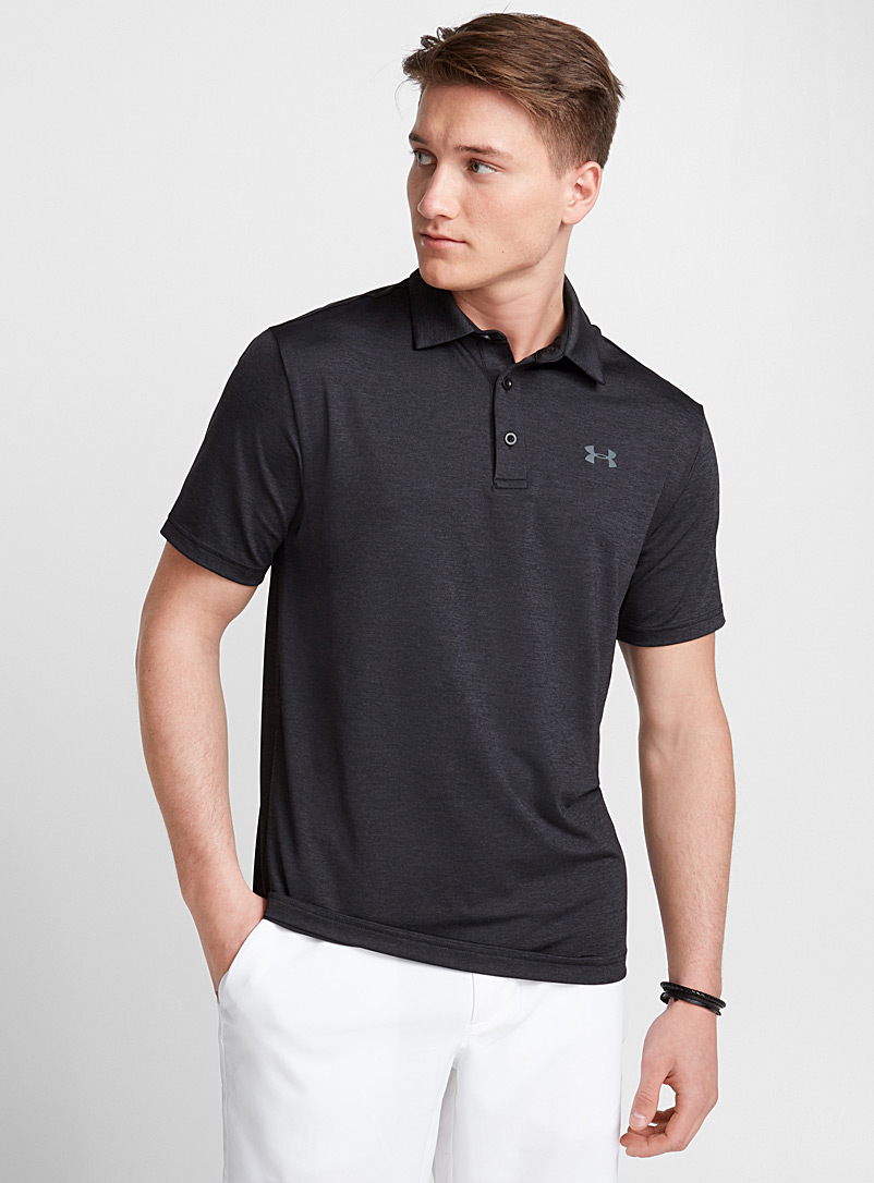 Playoff 2.0 striped polo - Polos - Patterned Black