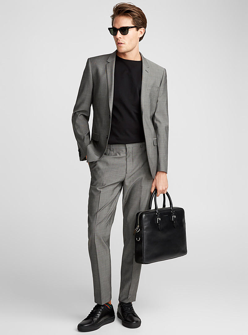 Marzotto Traveller suit  London fit-Semi-slim - Semi-slim Fit - Light Grey