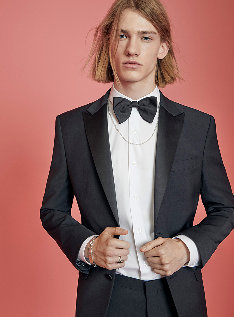 Recycled polyester tuxedo jacket  Stockholm fit-Slim