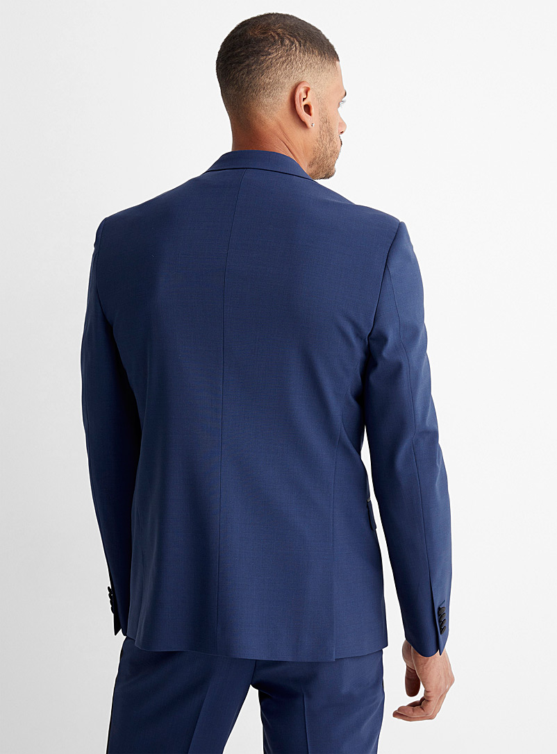 Le 31 Cherry Red Recycled polyester tuxedo jacket Stockholm fit-Slim for men