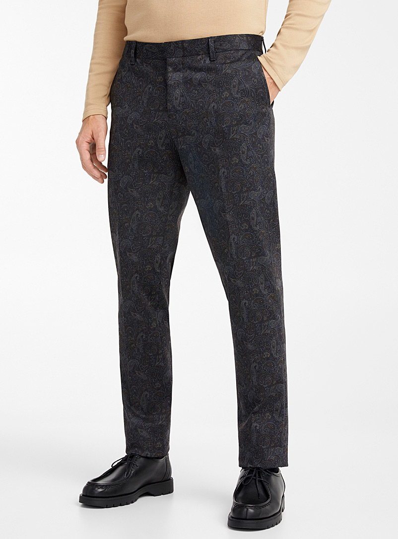 Nocturnal paisley pant  Stockholm fit - Slim