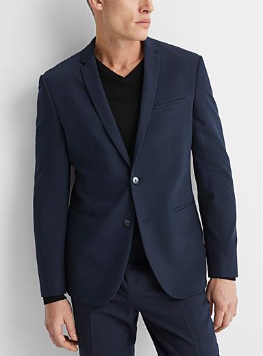 Navy technical jacket  Stockholm fit - Slim